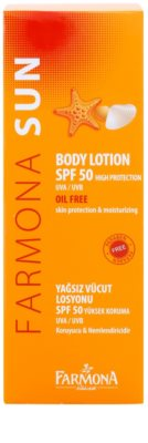 Farmona Sun Protective Sunscreen Lotion SPF 50 2