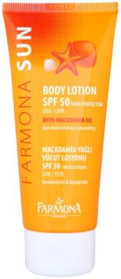 Farmona Sun loção protetora com efeito hidratante SPF 50