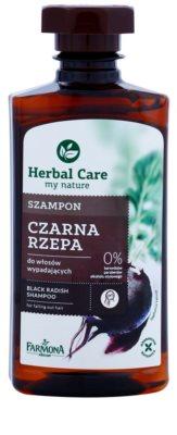 Farmona Herbal Care Black Radish szampon przeciw wypadaniu włosów