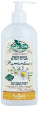 Farmona Herbal Care Chamomile krémes emulzió intim higiéniára