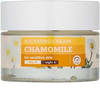 Farmona Herbal Care Chamomile nyugtató krém hidratáló hatással