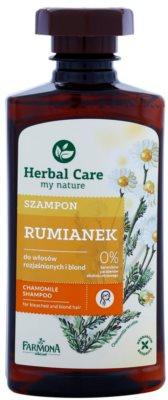 Farmona Herbal Care Chamomile champú para cabello decolorado y rubio