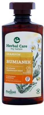 Farmona Herbal Care Chamomile šampon za posvetljene in blond lase