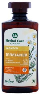 Farmona Herbal Care Chamomile szampon do włosów rozjaśnionych i blond