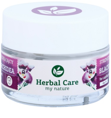 Farmona Herbal Care Black Orchid creme de fortalecimento para veias dilatadas com efeito regenerador