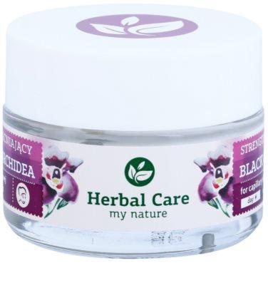 Farmona Herbal Care Black Orchid stärkende Creme für geplatzte Äderchen mit regenerierender Wirkung