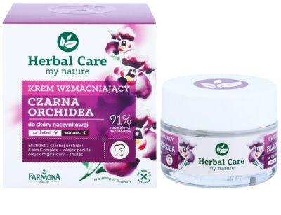 Farmona Herbal Care Black Orchid crema restauradora antivarices   con efecto regenerador 1