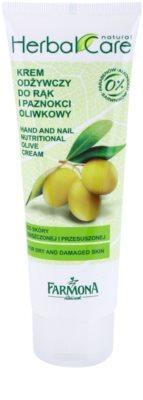 Farmona Herbal Care Olive crema nutritiva para manos y uñas