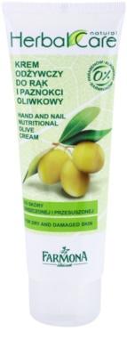 Farmona Herbal Care Olive vyživující krém na ruce a nehty