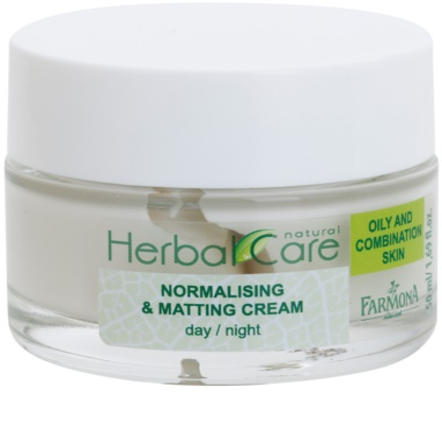 Farmona Herbal Care Green Tea normalizująco-matujący krem na dzień i na noc do skóry tłustej i mieszanej