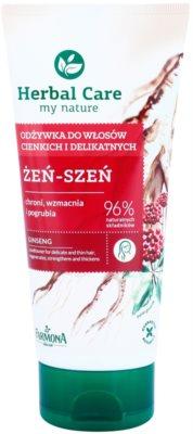 Farmona Herbal Care Ginseng regenerační kondicionér pro jemné vlasy