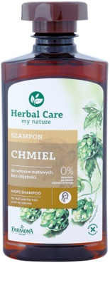 Farmona Herbal Care Hops erősítő sampon lelapuló hajra
