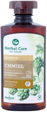 Farmona Herbal Care Hops posilující šampon pro vlasy bez objemu