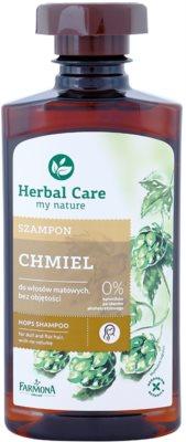 Farmona Herbal Care Hops stärkendes Shampoo für Haare ohne Volumen