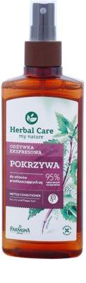 Farmona Herbal Care Nettle odżywka w sprayu bez spłukiwania do przetłuszczających się włosów i skóry głowy