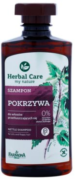 Farmona Herbal Care Nettle sampon pentru par gras