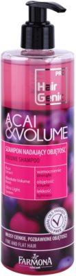 Farmona Hair Genic Acai & Volume sampon a dús hajért finom és lesimuló hajra