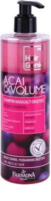 Farmona Hair Genic Acai & Volume Volumen-Shampoo für sanfte und müde Haare