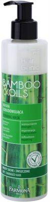 Farmona Hair Genic Bamboo & Oils erneuernde Maske für trockenes und beschädigtes Haar