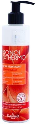 Farmona Hair Genic Monoi & Thermo bálsamo regenerador  para finalização térmica de cabelo