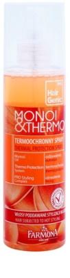 Farmona Hair Genic Monoi & Thermo Schützender Spray für thermische Umformung von Haaren