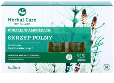 Farmona Herbal Care Horsetail intenzivni tretma za zelo poškodovane lase 2