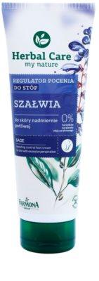 Farmona Herbal Care Sage crema de pies contra el exceso de sudor