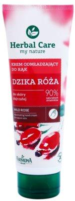Farmona Herbal Care Wild Rose crema pentru reintinerire pentru maini si unghii