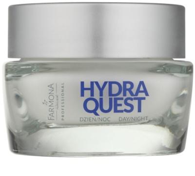 Farmona Hydra Quest crema hidratanta ce are efect impotriva ridurilor reface bariera protectoare a pielii