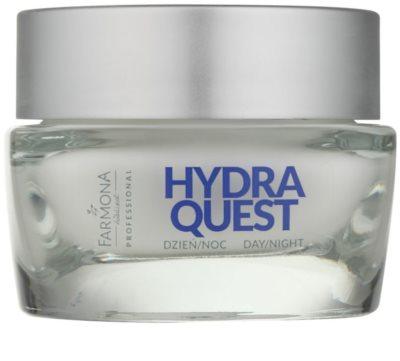 Farmona Hydra Quest feuchtigkeitsspendende Creme mit Anti-Falten-Wirkung regeneriert die Hautbarriere