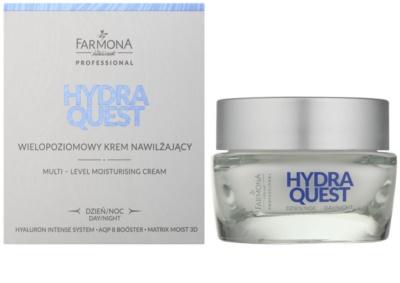 Farmona Hydra Quest hydratační krém s protivráskovým účinkem pro obnovu kožní bariéry 1