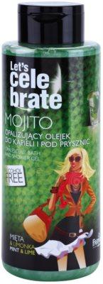 Farmona Let's Celebrate Mojito csillogó fürdő-és tusoló gél