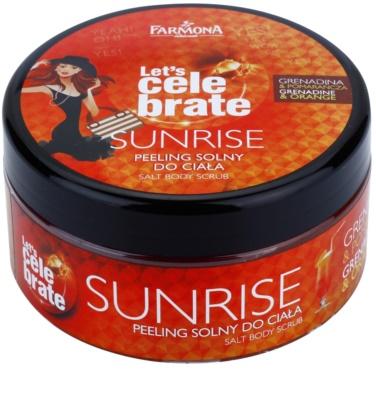 Farmona Let's Celebrate Sunrise peeling solny do ciała