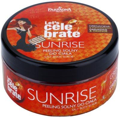 Farmona Let's Celebrate Sunrise só peeling testre