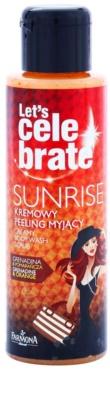 Farmona Let's Celebrate Sunrise exfoliante limpiador cremoso para el cuerpo