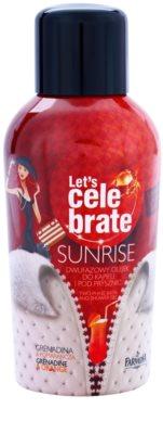 Farmona Let's Celebrate Sunrise двофазна олійка для ванни та душу