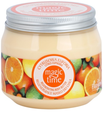 Farmona Magic Time Citrus Euphoria Körperbutter mit regenerierender Wirkung