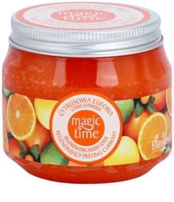 Farmona Magic Time Citrus Euphoria testradír cukorral a bőr regenerálódásáért
