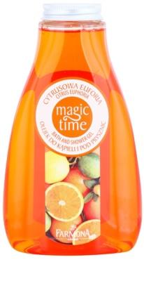 Farmona Magic Time Citrus Euphoria sprchový a kúpeľový gél s vyživujúcim účinkom