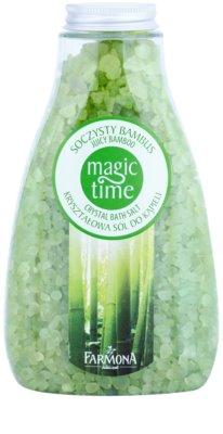 Farmona Magic Time Juicy Bamboo kristályos fürdősó ásványi anyagokkal