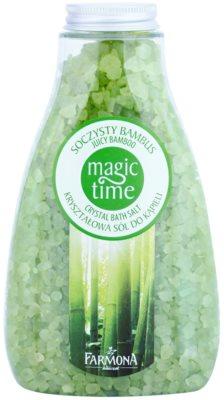 Farmona Magic Time Juicy Bamboo sal de banho com minerais