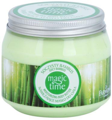 Farmona Magic Time Juicy Bamboo manteca corporal con efecto humectante