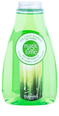 Farmona Magic Time Juicy Bamboo gel za prhanje in kopanje z hranilnim učinkom