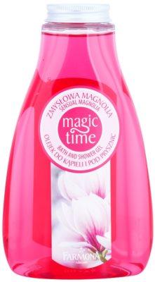 Farmona Magic Time Sensual Magnolia sprchový a koupelový gel s vyživujícím účinkem