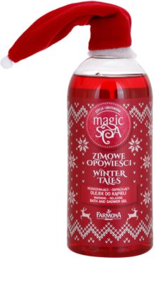 Farmona Magic Spa Winter Tales aceite de ducha y baño