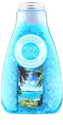 Farmona Magic Time Polynesian Paradise sare de baie cu cristale cu minerale