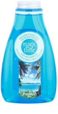 Farmona Magic Time Polynesian Paradise gel de ducha y para baño con efecto nutritivo