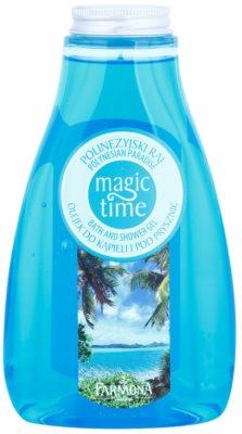 Farmona Magic Time Polynesian Paradise gel de duche e banho com efeito nutritivo