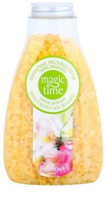 Farmona Magic Time Spring Awakening кристалічна сіль для ванни з мінералами