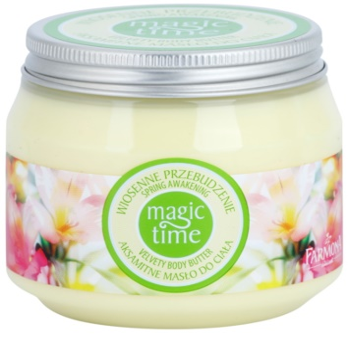 Farmona Magic Time Spring Awakening žametno maslo za telo za prehrano in hidracijo
